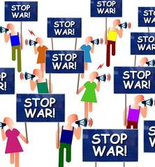 """Manif """"Stop war!"""""""