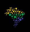 Brasil Networking Map logo