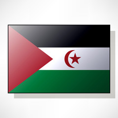 Flag of Sahrawi Arab Democratic Republic