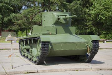 Легкий воветский  танк Т-26