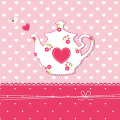 Teapot background