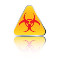 Biohazard sign. Illustration on white background for design