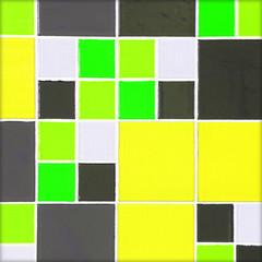 Mosaic tiles colorful ceramic pattern background