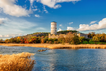 Stegeborg – a famous caste ruin in Sweden from the 13th century