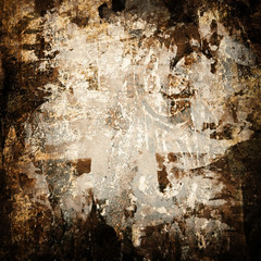 grunge paint background