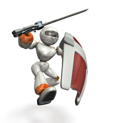 Robot to assault