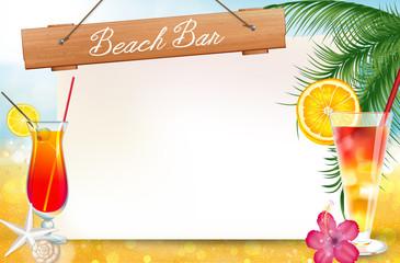 Summer Beach menù