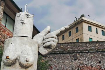 Skulptur in Genua