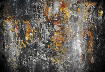 grunge painting background
