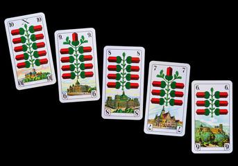 Spielkarten und Denkmäler Deutschland - Eichl