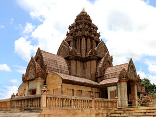 Sand stone castle at Chiang Rai province, Thailand.