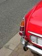 Rücklicht einer roten tschechischen Heckmotor Limousine
