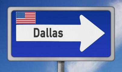 Amerikanische Metropole Dallas