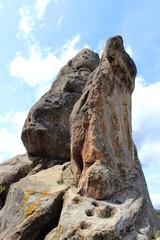 big stone rock