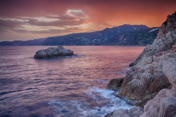 Costa Brava Rock Coast HDR