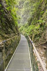 Gorges de la fou walkway