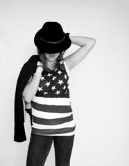 Jeune américaine