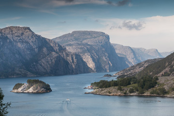 View into Lysefjord