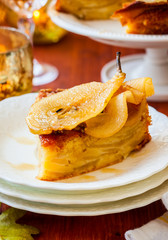 Pear cake for holiday