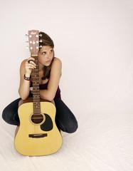 Jeune musicienne