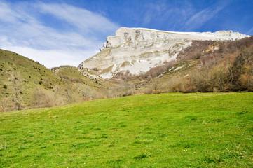 Monte Beriain, sierra de Andía (Navarra)