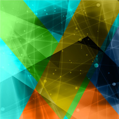 Abstract triangle background1