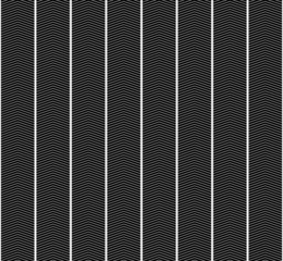 Black and White Zigzag Textured Fabric Pattern Background