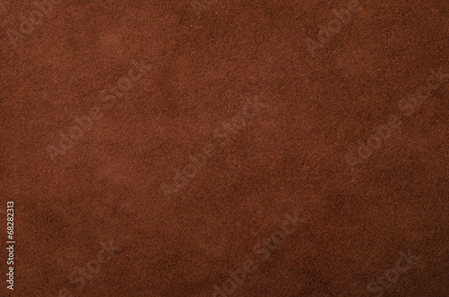 Tuinposter Stof Background of dark brown leather factory