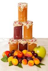 Appetizing Fruit Jams