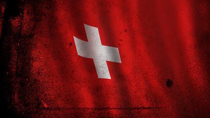 Switzerland Flag, Swiss Art (vector Art)