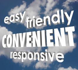 Convenient Easy Friendly Responsive 3d Words Clouds Sky