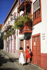 Calle de Santa Cruz de La Palma (Canarias)