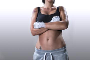 Boxe Girl White