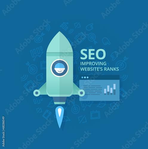 Seo Concept of Website Optimization