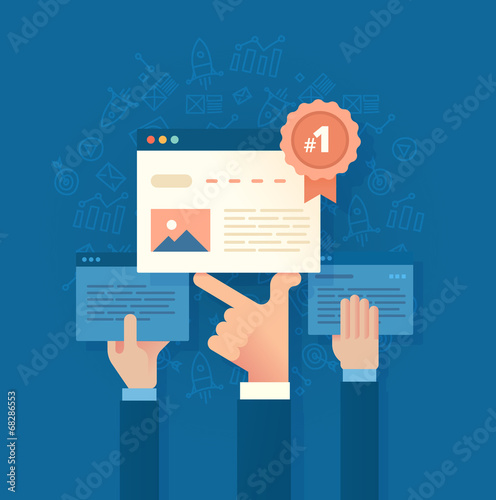 Fototapeta Improving Search Engine Ranking