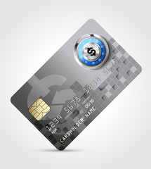 Dollar sign 6 - credit card