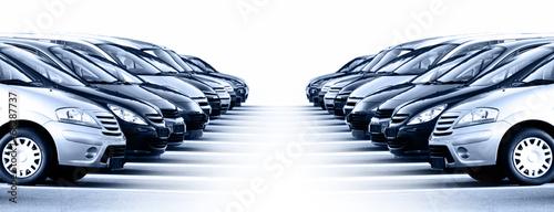 Leinwanddruck Bild Fahrzeuge Autobanner