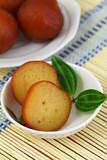 Gulab jamun dessert, closeup poster