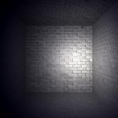Beleuchteter Raum