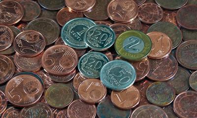 Zloty Groszy Euro Münzen