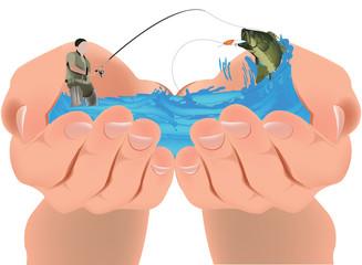 pesca protetta