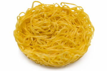 インスタントラーメン noodle 白背景
