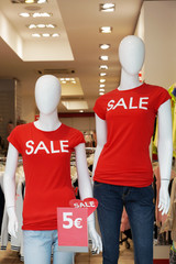 dummies advertising summer clearance sale