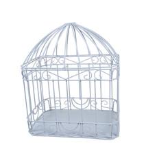 Large White Birdcage