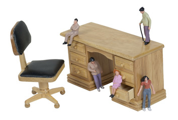 Small People Inspirations on a Desk