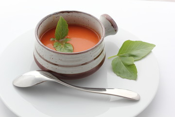 Soupe à table