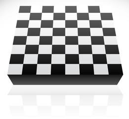 3d standard 8x8 chessboard