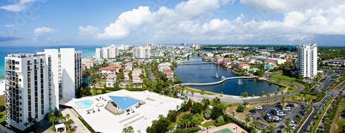 Leinwanddruck Bild Destin Florida Emerald coast