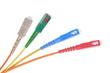 Optical patch cord plug standard sc
