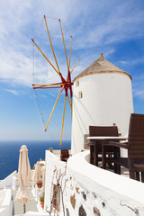 windmill of Oia, Santorini